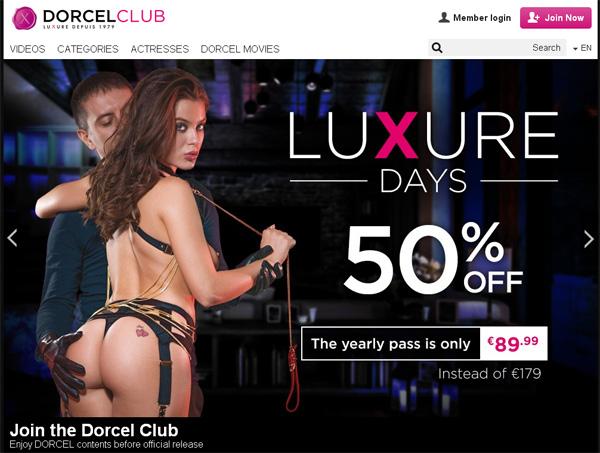 Dorcel Club Discount Accounts