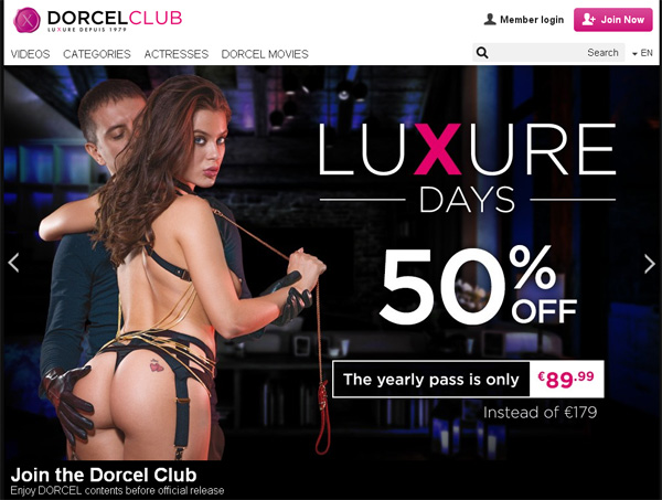 Dorcel Club Logins 2018