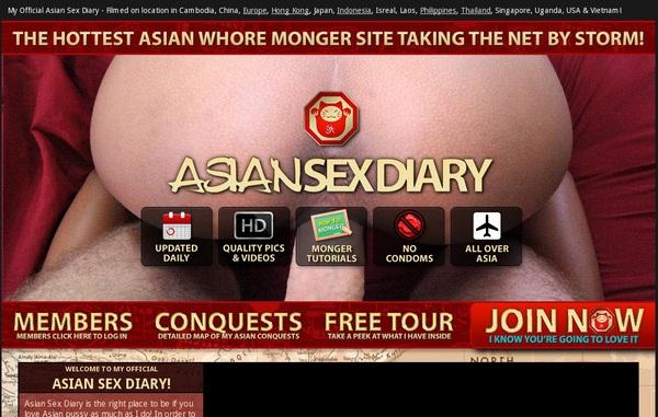 Free Asian Sex Diary Pass
