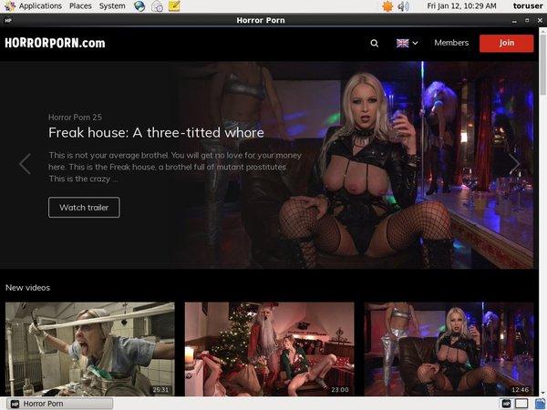 Horror Porn Porn Site