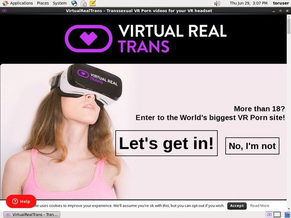 Virtual Real Trans Yearly Membership
