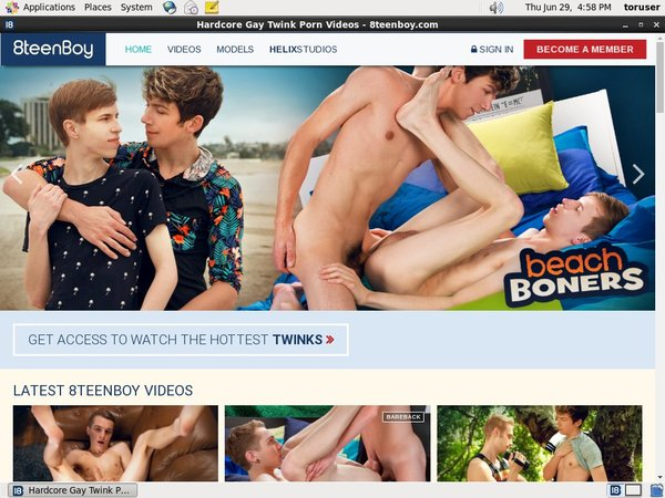 Join 8teenboy With Paypal