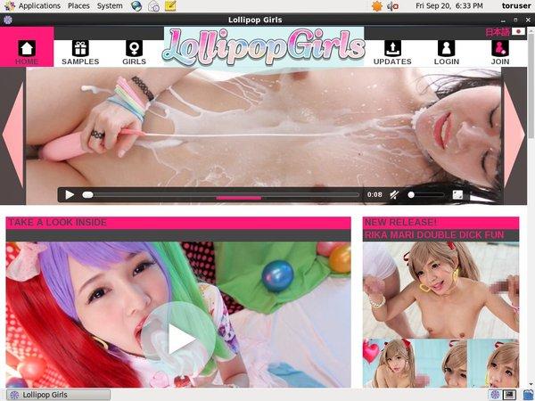 Lollipopgirls Website Password