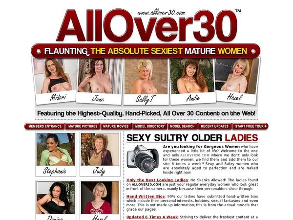 All Over 30 Original Sale Price
