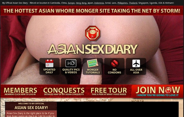 Asiansexdiary Discount Plan