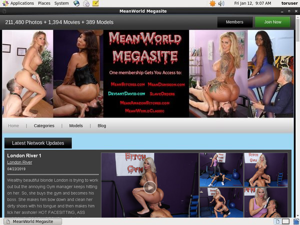 Mean World MegaSite Discount Username