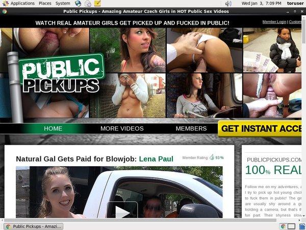 Public Pick Ups Promo Link Code