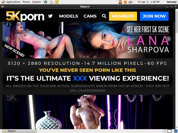 5K Porn Account Trial